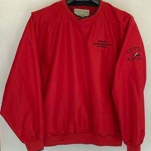 Cutter & Buck Men's Vintage Red Sweatshirt XL